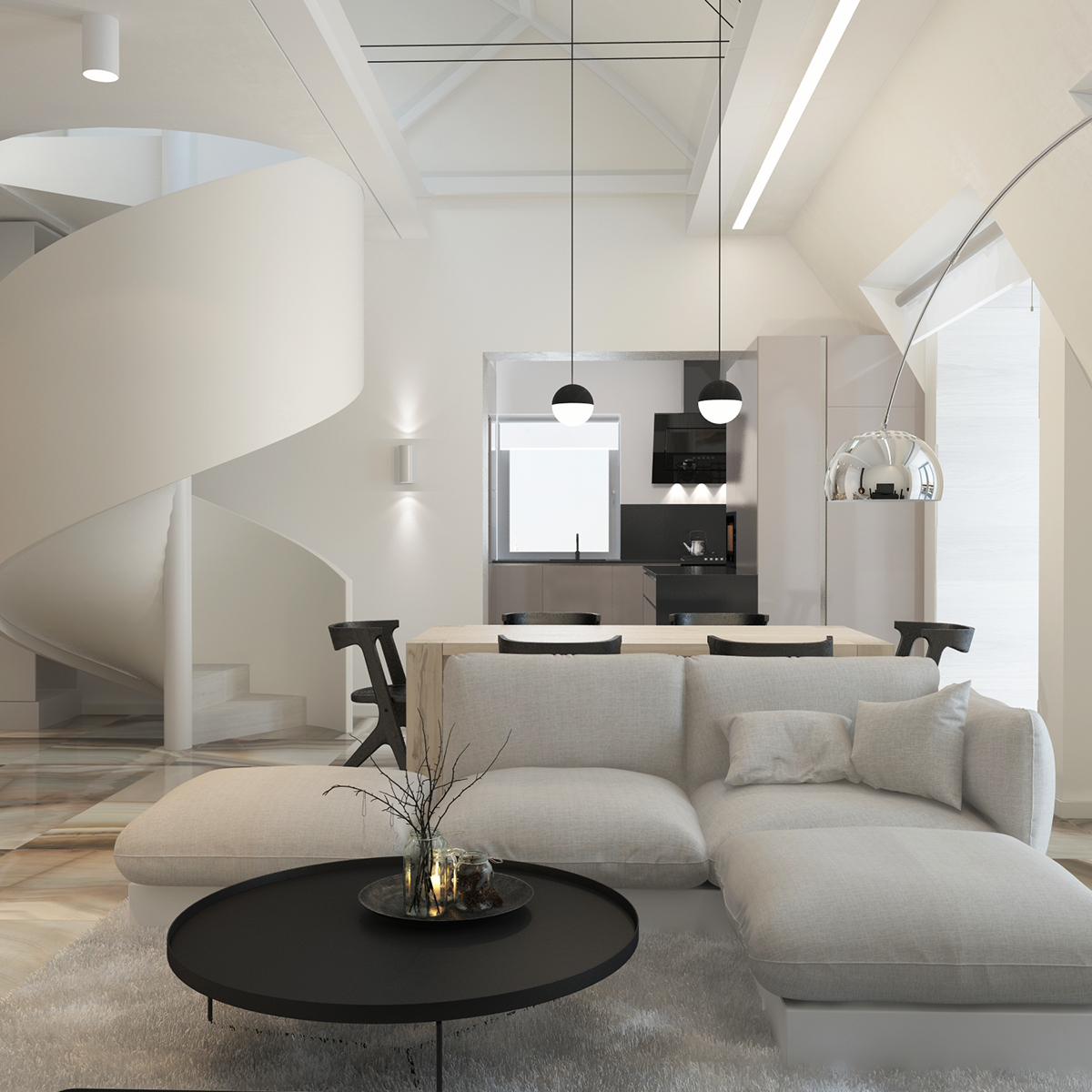 Penthouse Design Wohnung / stilprojekt Blog Christoph Baum